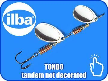 TONDO tandem not decorated