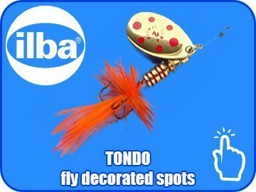 TONDO fly decorated spots p